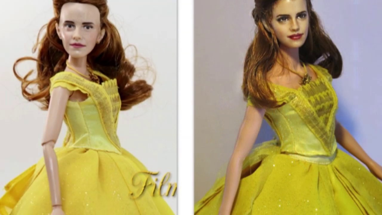 Belle Emma Watson REALISTIC CUSTOM REPAINT Live Action Beauty And The Beast Disney Doll Dolls