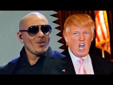 Pitbull Says Donald Trump  Should