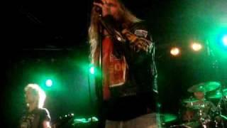 Sleeze Beez - Live In Helmond Part 1