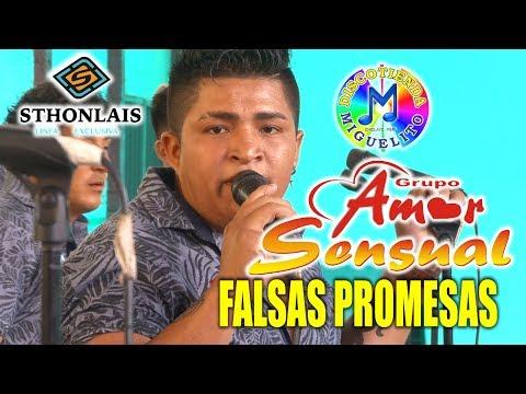 Falsas Promesas AMOR SENSUAL Exclusivo CONCIERTO OFICIAL Chiclayo
