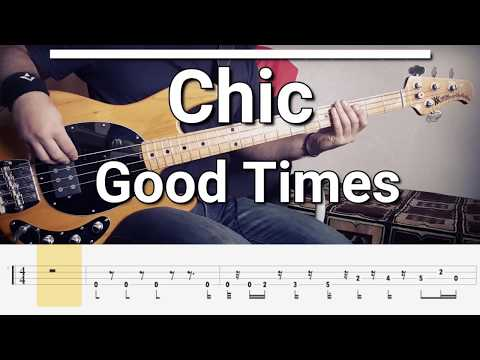 Chic - Good Times/Rapper's Delight (Bass Cover) Tabs