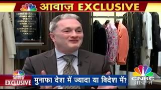 गौतम सिंघानिया का बेबाक इंटरव्यू  |  CNBC Awaaz Exclusive Interview