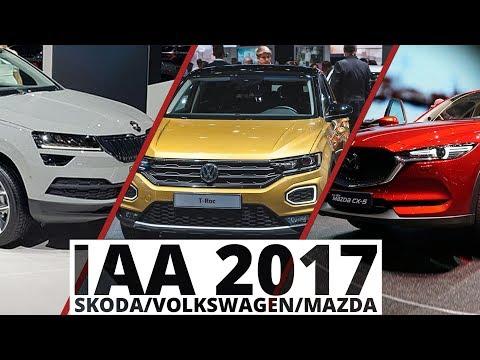 Frankfurt 2017 - Skoda, Volkswagen, Mazda