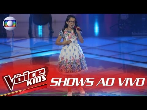 Mariana de Medeiros canta 'Trem Bala' no The Voice Kids Brasil - Shows ao Vivo