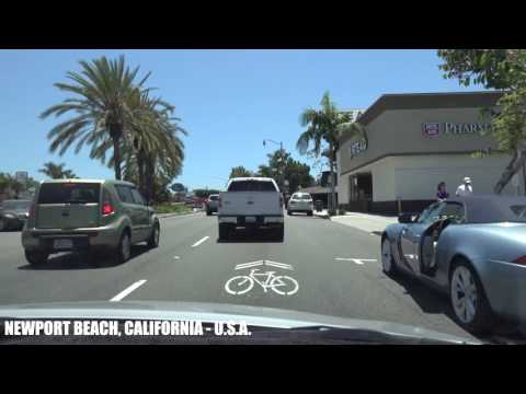 California Life - Sunday Drive - Pacific Coast Highway Newport Beach to Dana Point 4K