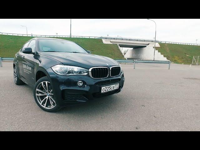 Тест драйв BMW X6 F16 M-Package