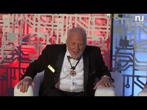 Buzz Aldrin speaks at the Apollo 11 50th Anniversary Event