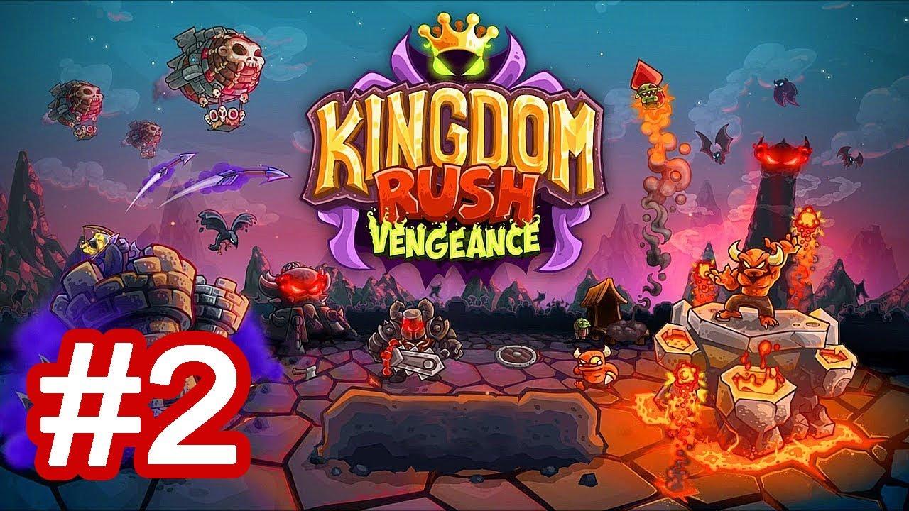 Kingdom Rush Vengeance - Tower Defense Gameplay Part 2 | Level 3