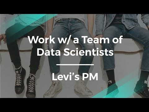 How to Work w/ a Team of Data Scientists by Levi's Product Manager