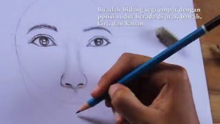 Video Tutorial Menggambar Wajah Perempuan/How to draw female face step by step download MP3, 3GP, MP4, WEBM, AVI, FLV April 2018