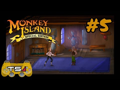 INSULT SWORD FIGHTING!! - THE SECRET OF MONKEY ISLAND SPECIAL EDITION (ALMOST BLIND) #5