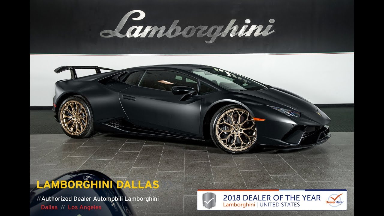 How To Get A Free Carfax Report >> 2018 Lamborghini Huracan Performante Nero Nemesis L1077