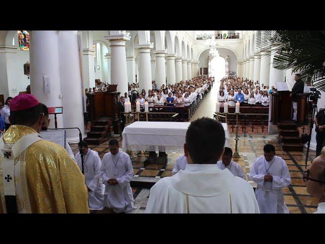 INSTITUCIÓN Y RENOVACIÓN DE MINISTERIOS 2019 Arquidiócesis de Bucaramanga