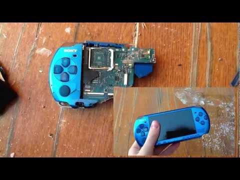 Рубим PSP на мелкие части (проверка на прочность)