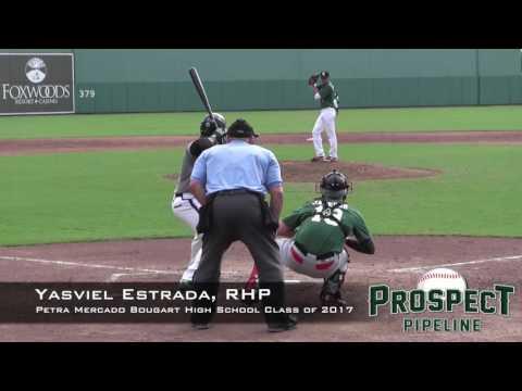 Yashviel Estrada Prospect Video, RHP, Petra Mercado Bougart High School Class of 2017