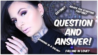 Q&A - Dating? Advice for starting Youtube? Falling in love? | Mariah McLean
