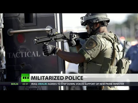 Police militarization making headlines after years of neglect by MSM