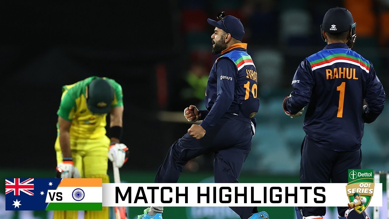India hold their nerve to win ODI epic in Canberra | Dettol ODI Series 2020 - download from YouTube for free