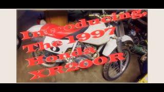 1997 Honda XR200R