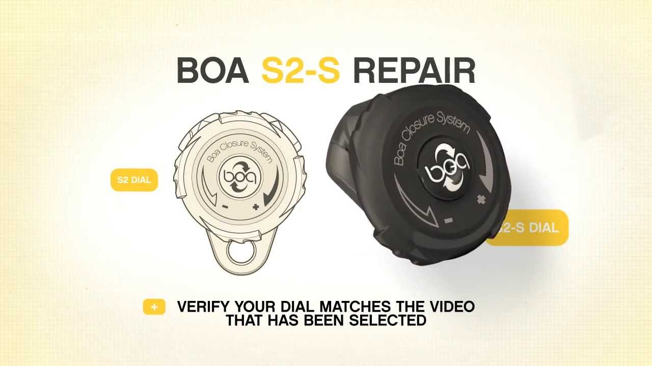 Repairing The Boa S2 S System Youtube