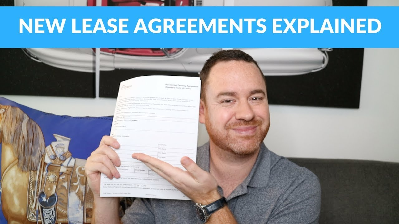 The Ontario Government Introduces New Standard Lease Agreements For