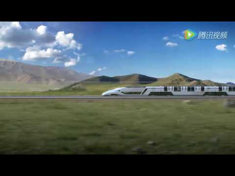 Promo of China's Concept Intercontinental High Speed Train at 2016 Berlin InnoTrans