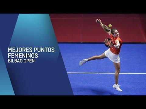 Mejores puntos femeninos Bilbao Open | World Padel Tour