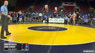 120 Cons. Round 9 - John Burger (new Jersey) Vs. Hunter Kosco (ohio)