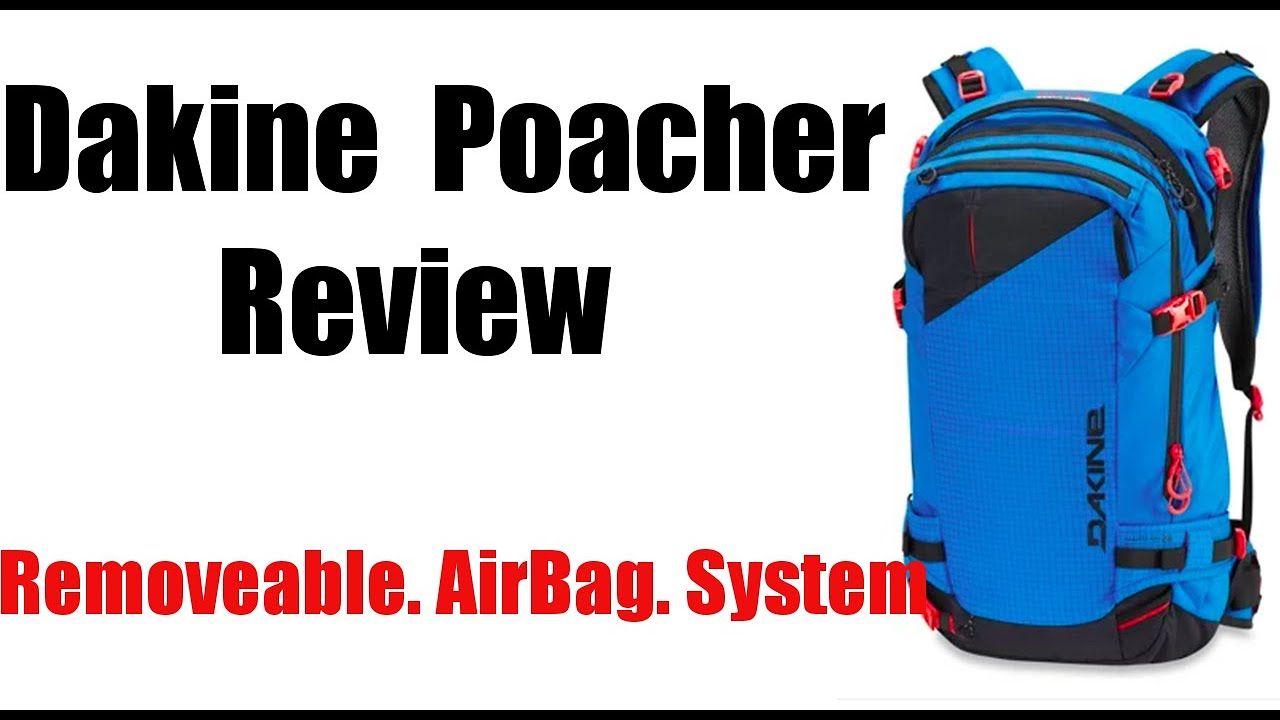 fashionable and attractive package factory latest collection Dakine Poacher Backpack Review: RollTop Release Airbag