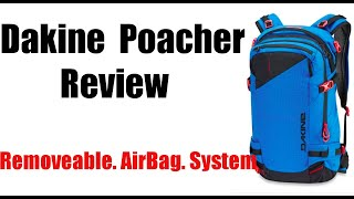 Dakine Poacher Backpack Review: RollTop Release Airbag