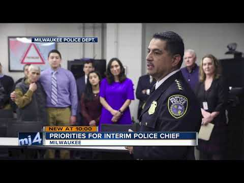 One-on-one with Interim Milwaukee Police Chief Alfonso Morales