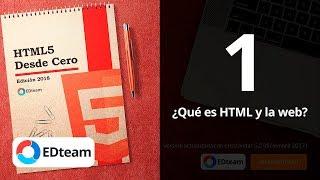 ¿Qué es HTML y la web? - Curso HTML5 Desde Cero  (1)