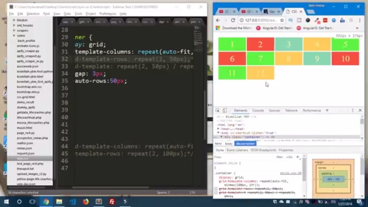 Css Grid Fraction Units Repeat Auto Fit Minmax And Implicit