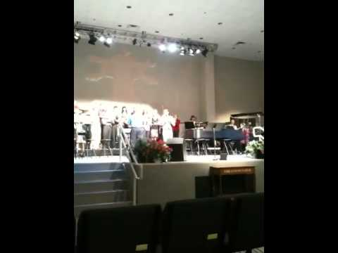 Ufuoma Singing Simply Devoted with the Highland Baptist Church choir (written by Sinach)