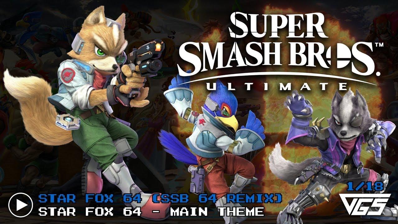 star fox smash bros