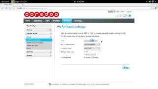 How to Ooredoo Qatar Change SSID and password of WiFi Router Hotspot Dongle screenshot 3