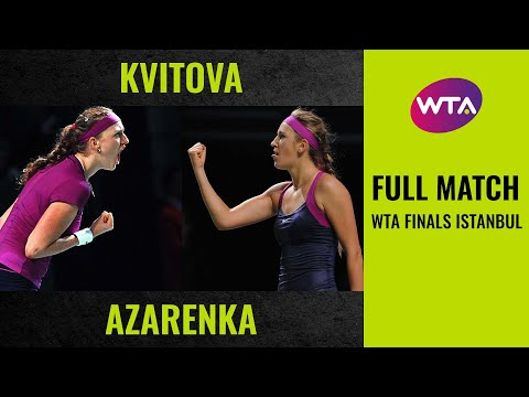 WTA Live | 2014 BNP Paribas WTA Finals presented by SC Global Draw Ceremony from YouTube · Duration:  49 minutes 23 seconds