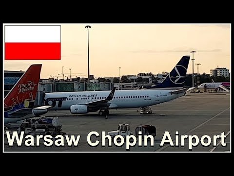 Warsaw Chopin Airport (from the Railway Station to the Airport)