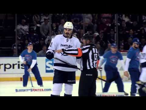 Tampa Bay Lightning - Brian Boyle mic'd up highlights from Game 5 of 2015 Eastern Conference Final