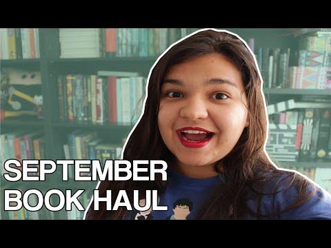 SEPTEMBER BOOK HAUL | Bruna's Books #002