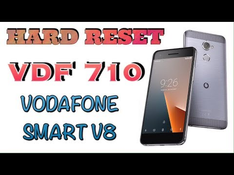 HARD RESET VDF 710 / VODAFONE SMART V8