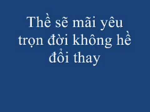 Lặng Thầm Một Tình Yêu-Thanh Bùi ft Hồ Ngọc Hà Lyrics