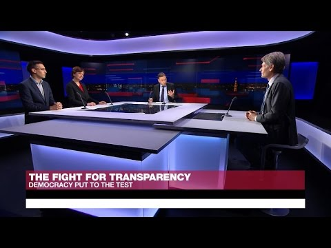 The fight for transparency: Democracy put to the test