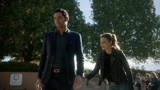 Lucifer 2x12 Chloe Spanks  and Teases Lucifer Season 2 Episode 12