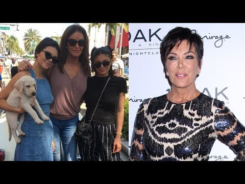 Kris Jenner Shades Caitlyn on Father's Day