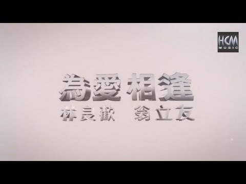 【MV大首播】林良歡VS翁立友-為愛相逢(官方完整版MV)HD【三立八點檔『世間情』片頭曲】