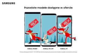 Promocja świąteczna na smartfony Samsung   Wybierz Samsung Galaxy S9 lub S9+