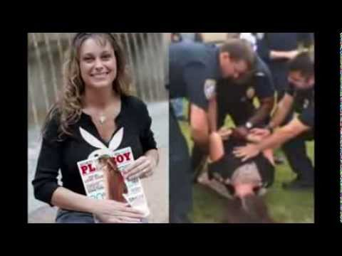 POLICE DETAIN MILITARY VETERAN MICHELLE MANHART FOR TAKING STOMPED FLAG FROM STUDENTS