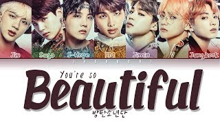 Baixar BTS (방탄소년단) - YOU'RE SO BEAUTIFUL (Color Coded Lyrics Eng/Rom/Han/가사)