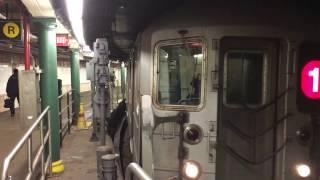 【アメリカ】 ニューヨーク地下鉄 1系統 サウス・フェリー・ループス駅 New York City Subway South Ferry Loops Station (2016.4)